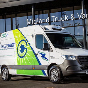 Freezerent teams up with trusted suppliers to develop first refrigerated Mercedes-Benz eSprinter