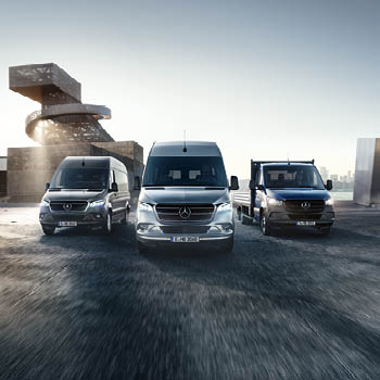 The Mercedes-Benz Sprinter Panel - Midlands Truck & Van
