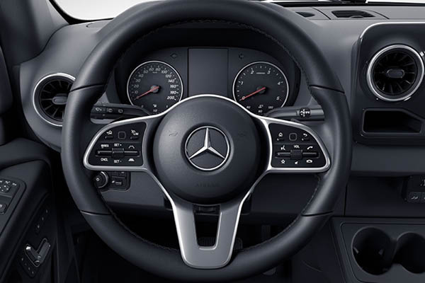 The Mercedes Benz Sprinter Panel Midlands Truck Van