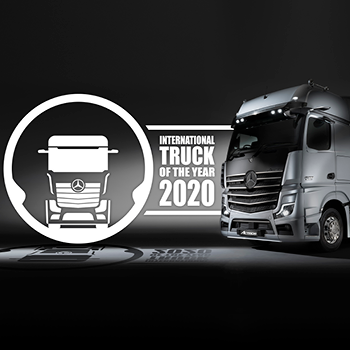 International Truck Of The Year 2020 - The new Actros. : image